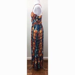 Anthropologie Dresses - Anthropologie Maeve S multicolor maxi dress